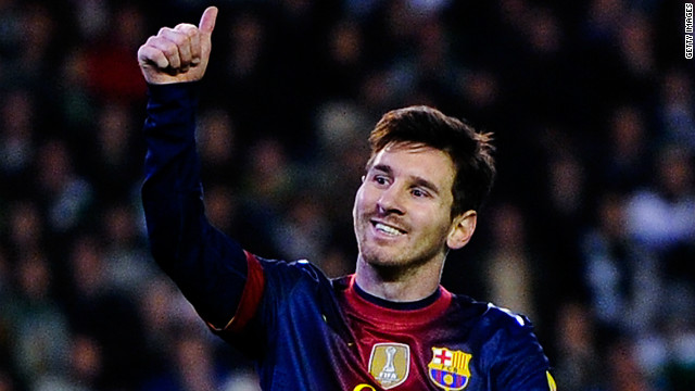 Messi passed Muller with three more possible matches to play in 2012. Then a three-time world player of the year, he went on to win a record fourth Ballon d'Or in January,