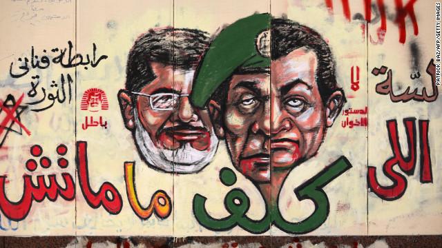 """Oposición en Egipto dice que hay """"una mejor democracia"""" que la que platea Morsi"""