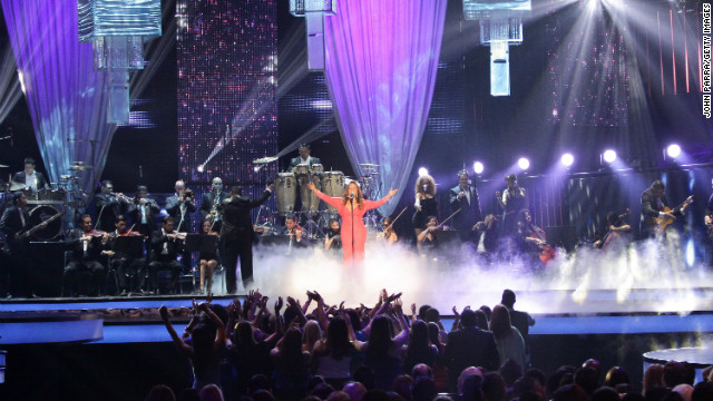 Rivera performs at the 2012 Billboard Latin Music Awards in April in Miami. Rivera was known to fans as &quot;La Diva de la Banda,&quot; or the Diva of Banda Music, establishing herself as a musical powerhouse with her Spanish-language performances of regional Mexican corridos, or ballads. In recent years, she had been working to crack the English-language U.S. market.