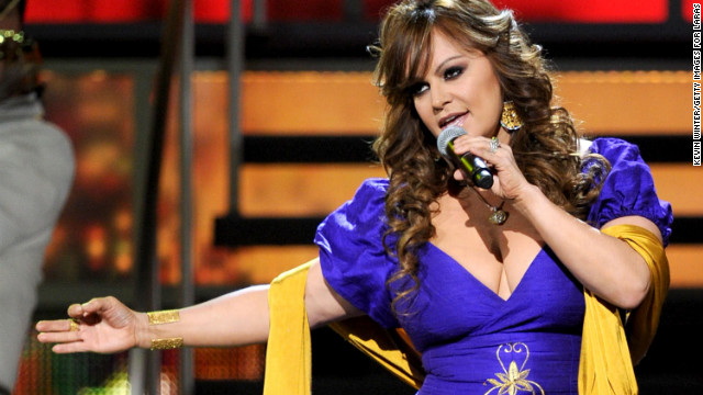 Rivera belts out a number during the 11th annual Latin Grammy Awards in November 2010 in Las Vegas.
