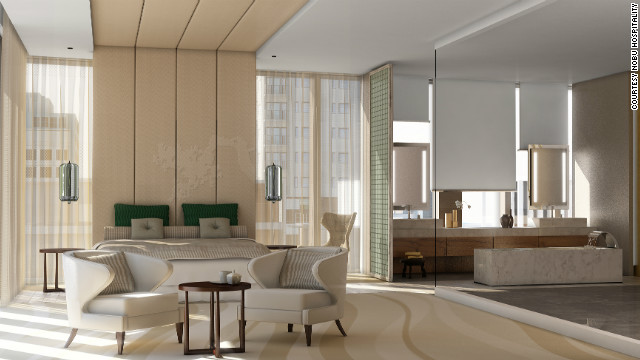 Nobu hotels are set open soon in Riyadh, as well as locations in London, Bahrain and the Caribbean. Nobu Hospitality chief executive Trevor Horwell says the chain diversified after seeing existing hotels gain popularity when Nobu restaurants opened in them