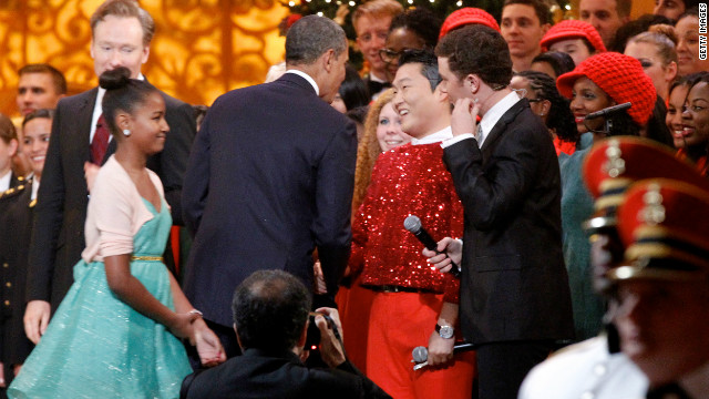 Did Obama go 'Gangnam?'