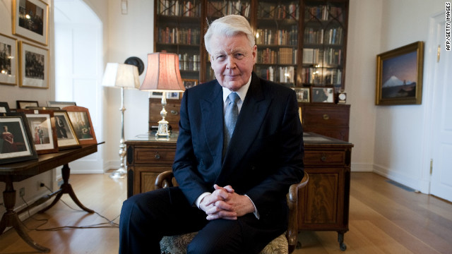 Iceland's president, lafur Ragnar Grmsson, says he hopes Iceland will be welcoming upwards of two million tourists a year by 2020.
