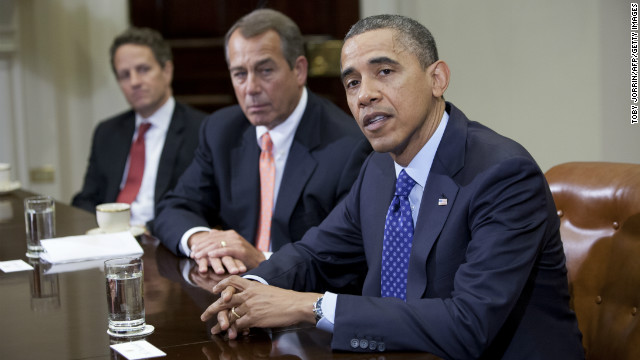 Boehner willing to talk tax rates for wealthy, source says