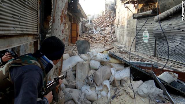 La oposición de Siria rechaza sanciones de EE.UU. a grupos de militantes