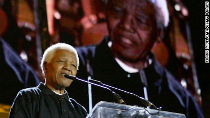Carrying on the work of Nelson Mandela