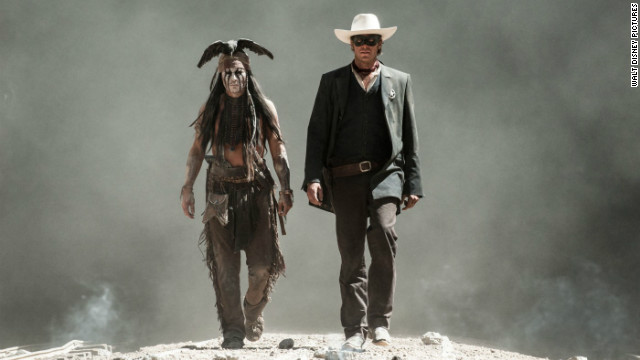 Critics tear into 'Lone Ranger'