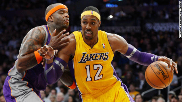 "Having spent most of his career in Orlando, Dwight Howard, also known as ""Superman,"" joined the L.A. Lakers this year with an already impressive list of accomplishments. He is the only player to lead the league in rebounds in five consecutive seasons, and he has led the league in blocks per game three times and double-doubles twice. He's also the youngest player to reach 7,000 rebounds. At 27, he still has gas in the tank and is an inevitable first-ballot Hall of Famer. Now, if he could just figure out those free throws."
