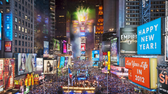 More than one million people will head to Times Square for New York's legendary fun-filled celebrations on December 31. This year's live entertainment will come from the likes of Taylor Swift, Psy and the Neon Trees.