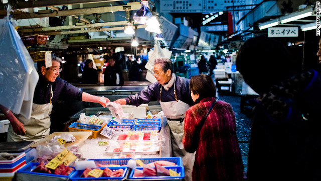 Tsukiji fish market - the heart and sole of Tokyo - will close
