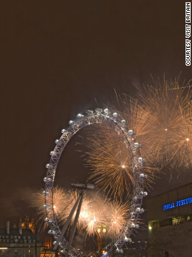 London intends to see out a 2012 -- a year in which the city hosted the Olympics and the Queen's Diamond Jubilee -- in style. There will be a spectacular fireworks display along the banks of the river Thames. 
