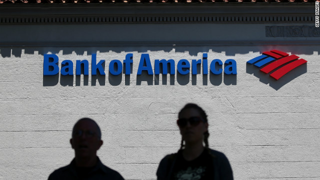 Bank of America was fined in February 2012 for charging discriminatory lending rates to African American and Latino borrowers.
