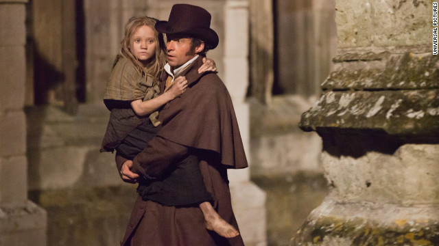 Hugh Jackman on losing fat, gaining muscle for 'Les Mis'