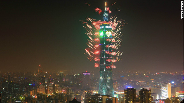 "The Taipei 101 in Taiwan was completed in 2004 and held the ""world's tallest"" title -- at 508 meters -- for about six years. Its opening coincided with the bursting of the global tech bubble."