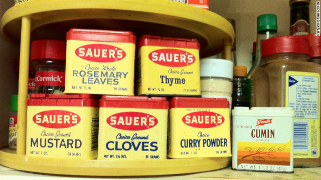 National update your parents' spice rack month