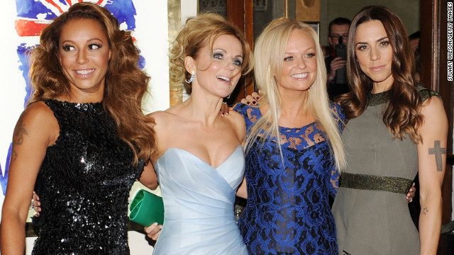 Spice Girls hit the red carpet for 'Viva Forever'