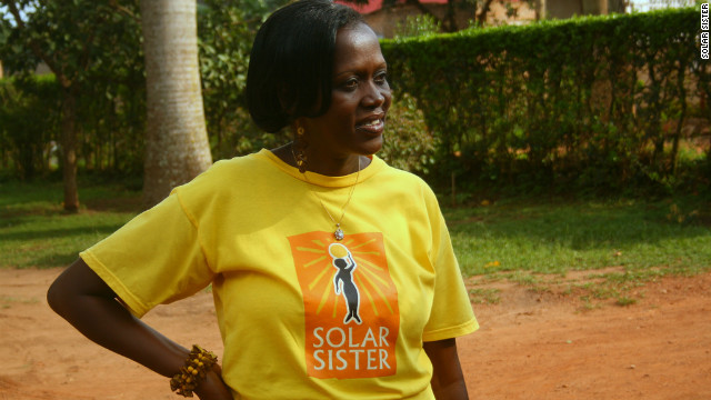 Eva Walusimbi, a community leader in Mityana, Uganda, was one of the first women to join Solar Sister. She says that her life has changed enormously after starting working with the group.