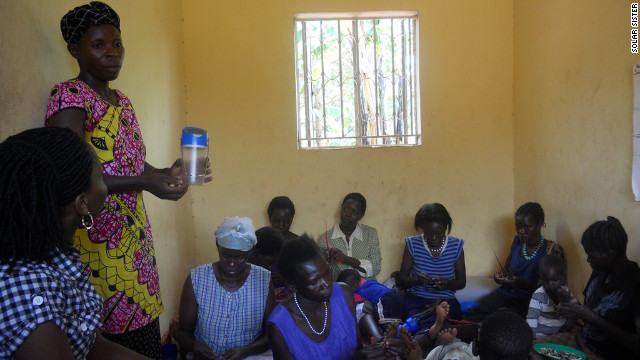 The women use their community networks of family, friends and neighbors to build their own businesses.