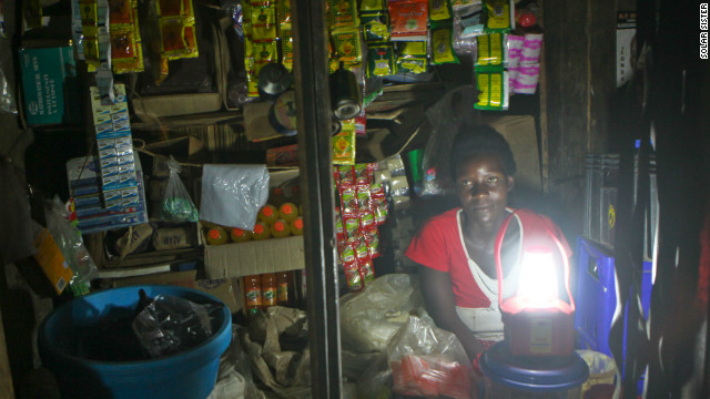 Some 90% of people in Uganda live without access to electricity, according to World Bank data. 