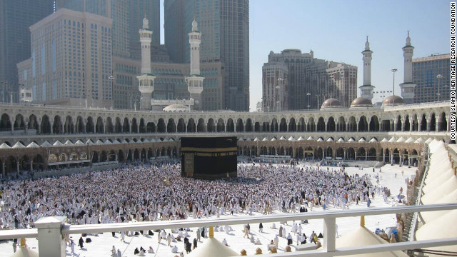 The Ottoman portico, one of the oldest parts of the Grand Mosque, fringes the area surrounding the Kaaba. Its removal is part of a renovation project that will triple the amount of space for pilgrims at Islam's holiest site, according to Saudi authorities.