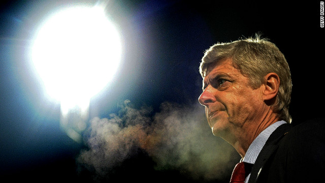 The heat is on Arsenal manager Arsene Wenger as his side prepare to face Bayern Munich in the European Champions League