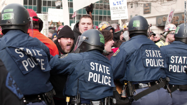 Michigan bills pass amid large protests