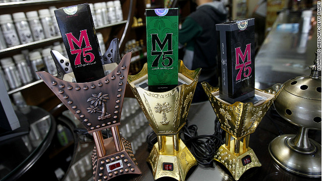 "The perfume comes in different versions for men and women, and is marketed with the slogan: ""Whoever loves victory, happiness and dignity, loves the M75 perfume."""