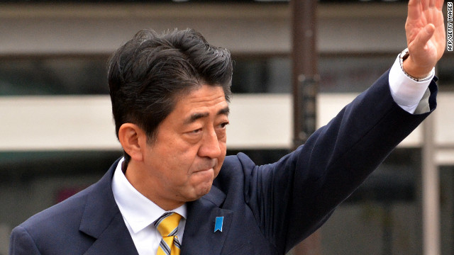 Can Abe tap into Japan's Olympic unity?