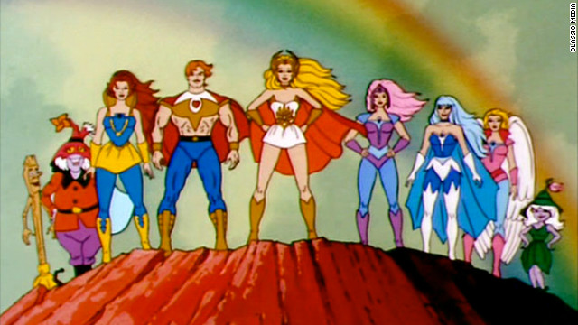 An animated TV series called &quot;She-Ra: Princess of Power&quot; began airing in 1985.