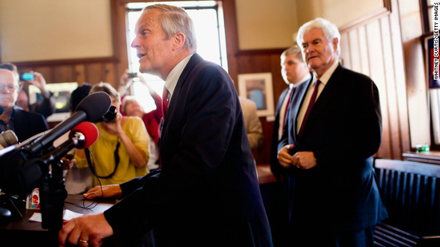 Rep. Todd Akin touched off controversy with his comments on rape and pregnancy during his bid for U.S. Senate from Missouri. He lost the support of establishment Republicans and fundraisers but stayed in the race before losing on Election Day.