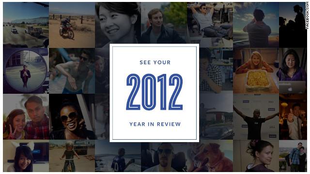 Facebook revive tus 20 momentos más destacados del 2012