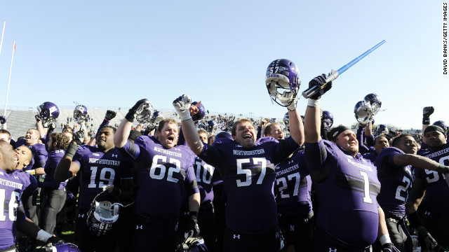 Northwestern, Northern Illinois top &#039;Academic BCS&#039; rankings