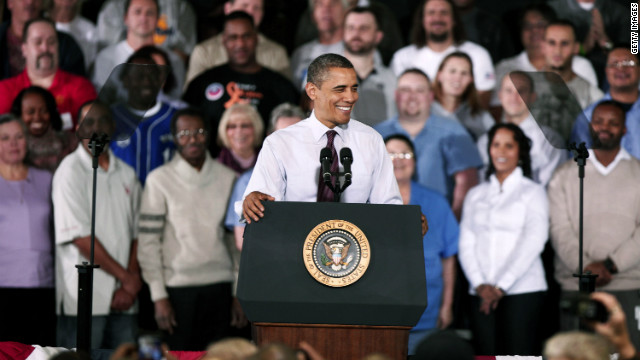 Obama above 50% in most polling