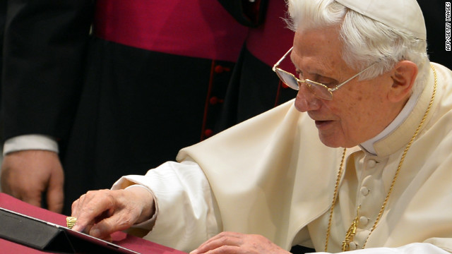 Pope Benedict XVI has been active on Twitter for about two months. He recently announced that he will resign as pope. 