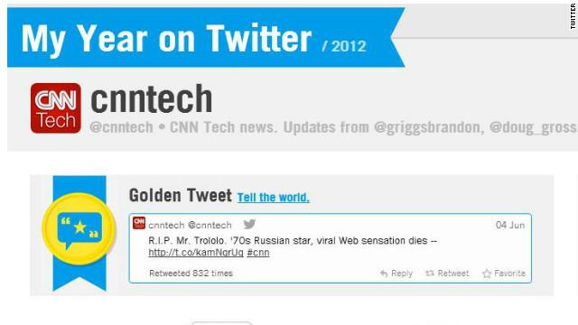"""""""Mi año en Twitter"""" una app para ver tu actividad más importante en 2012"""