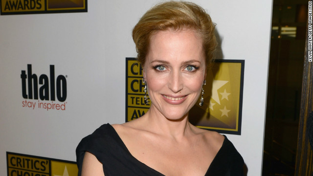 Gillian Anderson joins NBC's 'Hannibal'