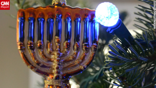 When the holiday season rolls around, some interfaith households <a href='http://ireport.cnn.com/topics/891452'>celebrate a combination of holidays</a>. Christmas and Hanukkah, dubbed by some as Chrismukkah, is one example. Find out how these families celebrate this blended holiday.
