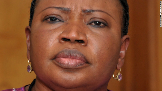 International Criminal Court chief prosecutor Fatou Bensouda gives a press conference on November 12, 2012 in Dakar.