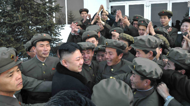 New pictures show N. Korean leader during launch