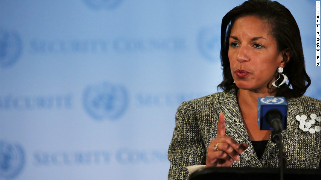 U.S. Ambassador to the United Nations Susan Rice withdrew her name from consideration for secretary of state on Thursday.