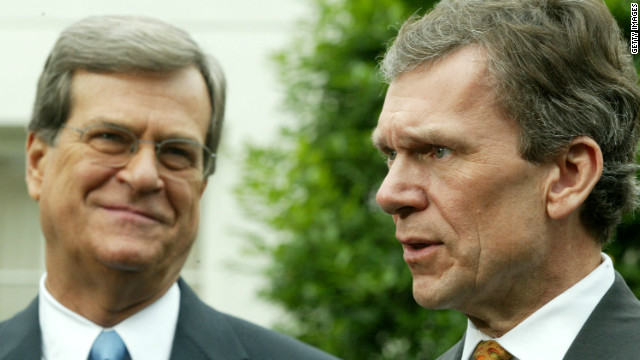 Lott, Daschle discuss fiscal cliff, bipartisanship and the media
