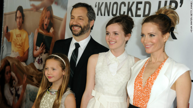 Judd Apatow: Parent on the set