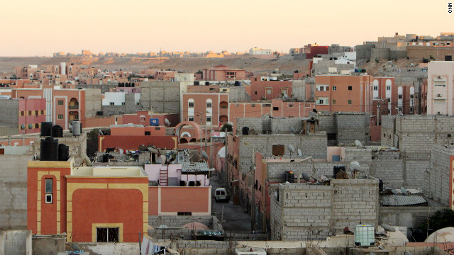 The city of Laayoune in the disputed territory of Western Sahara