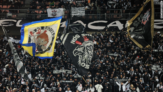 It is estimated 30,000 Corinthians fans are in Japan to support the Brazilian club in the Club World Cup.