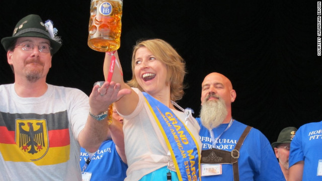 In September 2011, Brown served as grand marshal of the German-American Steuben Parade in New York.