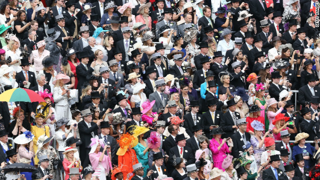 A growing number of people are becoming involved in the sporting side of racing. A record 130,000 punters attended the Epsom Derby, which launched Queen Elizabeth's Diamond Jubilee celebrations. Crowds also flocked to her commemorative race at Ascot (pictured).