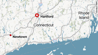 Connecticut Elementary Massacre 121214035649-newtown-connecticut-locator-c1-main