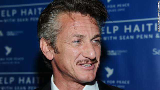 Sean Penn: No shame in saying I want love