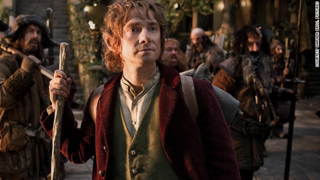 Martin Freeman stars as Bilbo Baggins in