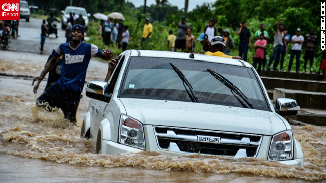 Santo Domingo, Dominican Republic faced large-scale flooding as it was hit with Hurricane Sandy prior to the U.S. in October. Misael Rincon shot images of the superstorm and other hurricanes in 2012.